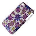 Stylized Floral Ornate Pattern Apple iPhone 3G/3GS Hardshell Case (PC+Silicone) View4