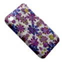 Stylized Floral Ornate Pattern Apple iPhone 3G/3GS Hardshell Case (PC+Silicone) View5