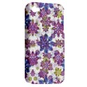 Stylized Floral Ornate Pattern Apple iPhone 4/4S Hardshell Case (PC+Silicone) View2