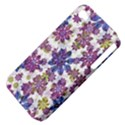 Stylized Floral Ornate Pattern Apple iPhone 4/4S Hardshell Case (PC+Silicone) View4