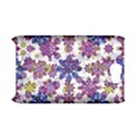 Stylized Floral Ornate Pattern Samsung Galaxy Note 2 Hardshell Case (PC+Silicone) View1