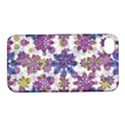Stylized Floral Ornate Pattern Apple iPhone 4/4S Hardshell Case with Stand View1