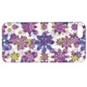Stylized Floral Ornate Pattern Apple iPhone 5 Hardshell Case with Stand View1