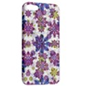 Stylized Floral Ornate Pattern Apple iPhone 5 Hardshell Case with Stand View2
