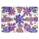 Stylized Floral Ornate Pattern Samsung Galaxy Tab 10.1  P7500 Flip Case View1