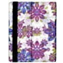 Stylized Floral Ornate Pattern Samsung Galaxy Tab 10.1  P7500 Flip Case View2
