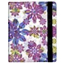 Stylized Floral Ornate Pattern Samsung Galaxy Tab 8.9  P7300 Flip Case View2