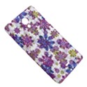 Stylized Floral Ornate Pattern Sony Xperia T View5