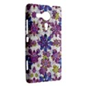 Stylized Floral Ornate Pattern Sony Xperia SP View2