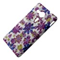 Stylized Floral Ornate Pattern Sony Xperia SP View4