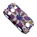 Stylized Floral Ornate Pattern Samsung Galaxy S7710 Xcover 2 Hardshell Case View5
