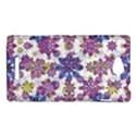 Stylized Floral Ornate Pattern Sony Xperia C (S39H) View1