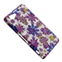 Stylized Floral Ornate Pattern Sony Xperia Z1 Compact View5