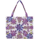 Stylized Floral Ornate Pattern Mini Tote Bag View1