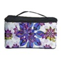 Stylized Floral Ornate Pattern Cosmetic Storage Case View1