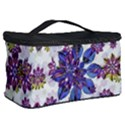 Stylized Floral Ornate Pattern Cosmetic Storage Case View2