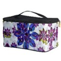 Stylized Floral Ornate Pattern Cosmetic Storage Case View3