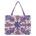 Stylized Floral Ornate Pattern Medium Tote Bag View1
