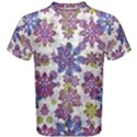 Stylized Floral Ornate Men s Cotton Tee View1