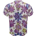 Stylized Floral Ornate Men s Cotton Tee View2
