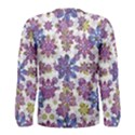 Stylized Floral Ornate Men s Long Sleeve Tee View2