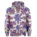 Stylized Floral Ornate Men s Pullover Hoodie View1