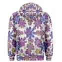 Stylized Floral Ornate Men s Pullover Hoodie View2