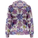Stylized Floral Ornate Women s Pullover Hoodie View2