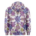 Stylized Floral Ornate Men s Zipper Hoodie View2