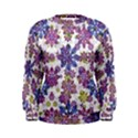Stylized Floral Ornate Women s Sweatshirt View1