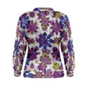 Stylized Floral Ornate Women s Sweatshirt View2