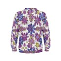 Stylized Floral Ornate Kids  Sweatshirt View2