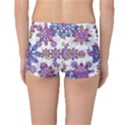 Stylized Floral Ornate Reversible Boyleg Bikini Bottoms View2
