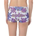 Stylized Floral Ornate Reversible Boyleg Bikini Bottoms View4