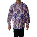 Stylized Floral Ornate Hooded Wind Breaker (Kids) View1