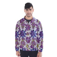 Stylized Floral Ornate Wind Breaker (Men)