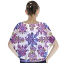 Stylized Floral Ornate Blouse View2