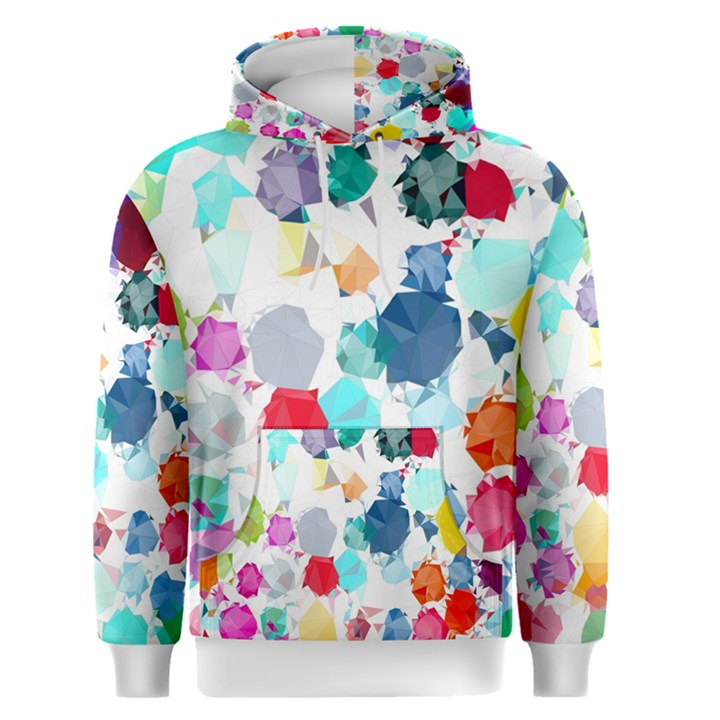 Colorful Diamonds Dream Men s Pullover Hoodie