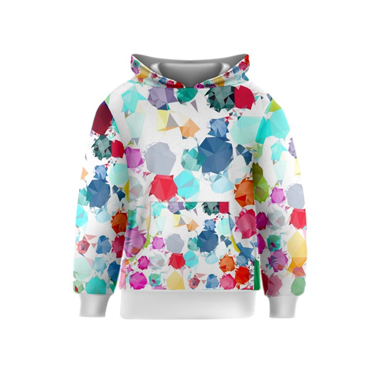 Colorful Diamonds Dream Kids  Pullover Hoodie