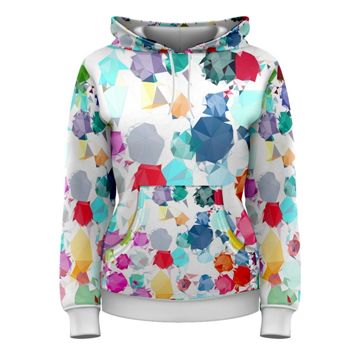 Colorful Diamonds Dream Women s Pullover Hoodie