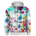 Colorful Diamonds Dream Men s Zipper Hoodie View1