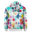 Colorful Diamonds Dream Men s Zipper Hoodie View2