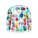 Colorful Diamonds Dream Kids  Sweatshirt View1