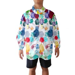 Colorful Diamonds Dream Wind Breaker (kids)