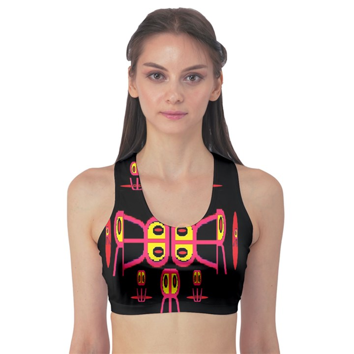 Alphabet Shirt R N R Sports Bra