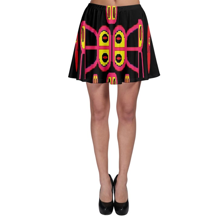 Alphabet Shirt R N R Skater Skirt