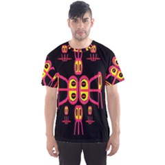 Alphabet Shirt R N R Men s Sport Mesh Tee