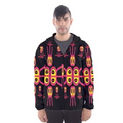 Alphabet Shirt R N R Hooded Wind Breaker (Men)