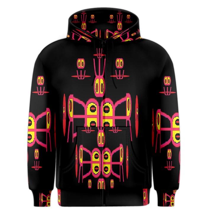 Alphabet Shirt R N R Men s Zipper Hoodie