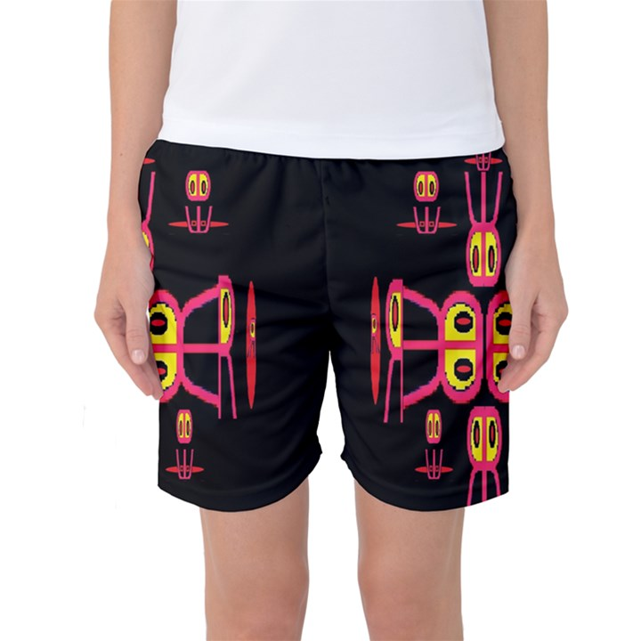 Alphabet Shirt R N R Women s Basketball Shorts